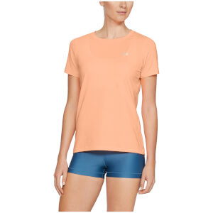 Under Armour Women's HeatGear T-Shirt - Orange