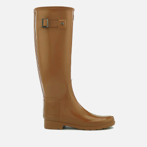 Hunter Women's Original Refined Gloss Tall Wellies - Tawny
