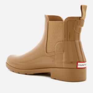 Hunter Women's Original Refined Gloss Chelsea Boots - Tawny: Image 3