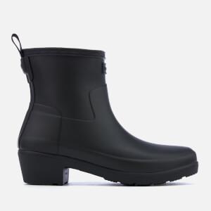 Hunter Women's Refined Low Heel Ankle Boots - Black