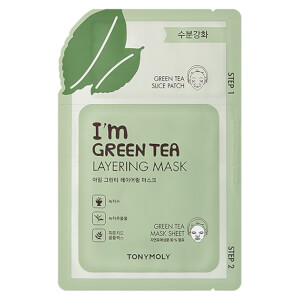 TONYMOLY I'm Layering Mask - Green Tea