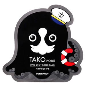 TONYMOLY Tako Pore One Shot Nose Mask