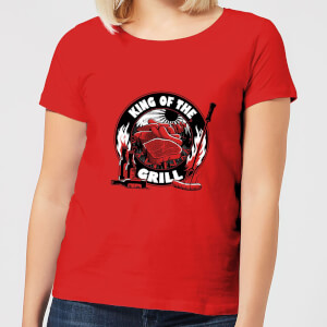 King Of The Grill Women's T-Shirt - Red