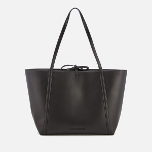 Armani Exchange Women's Nappa Look Tote Bag - Black