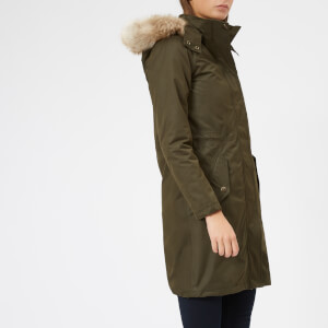 Joules Women's Windfield 4 in 1 Parka - Heritage Green
