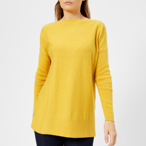 Joules Women's Lilly Boat Neck Jumper - Ochre