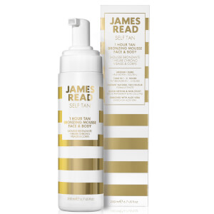 Mousse bronceadora facial y corporal 1 Hour Tan de James Read 200 ml