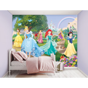 Décoration Murale Princesses Disney - Walltastic