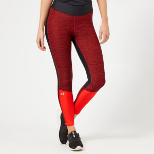 Under Armour Women's Jac Ankle Crop Leggings - Black/Radio Red