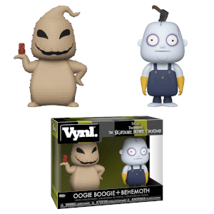 Nightmare Before Christmas Oogie Boogie und Behemoth Vynl.