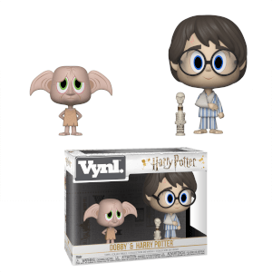 Figura Funko Vynl. - Dobby & Harry Potter - Harry Potter