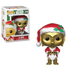 Figurine Pop! C-3PO Père Noël - Star Wars Holiday