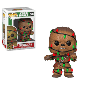 Star Wars Holiday - Chewie with Lights Pop! Vinyl Figur