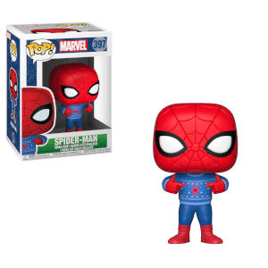Marvel Holiday - Spider-Man with Ugly Sweater Pop! Vinyl Figur