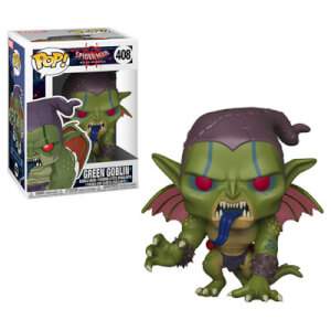 Marvel Animated Spider-Man - Green Goblin Pop! Vinyl Figur