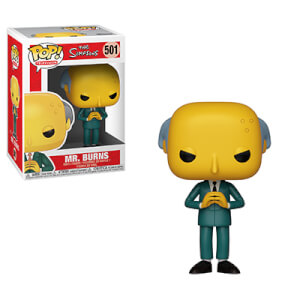 Figurine Pop! Les Simpsons - Mr Burns