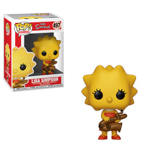 The Simpsons Lisa-Saxophone Funko Pop! Figuur