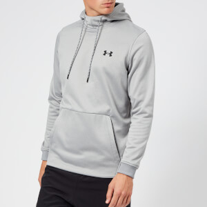 Under Armour Men's Armour Fleece Pull Over Hoodie - Steel Light Heather