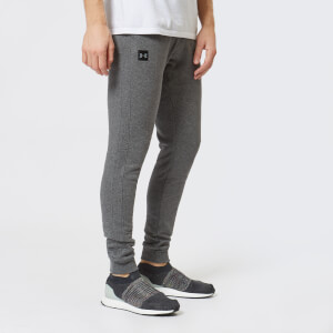 Under Armour Men's Rival Fleece Joggers - Charcoal Light Heather/Black