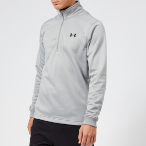 Under Armour Men's Armour Fleece 1/2 Zip Top - Steel Light Heather
