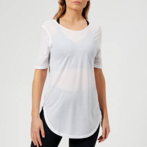 Under Armour Women's Breathe Short Sleeve T-Shirt - White