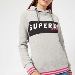 Superdry Women's SD Skater Hoody - Heelflip Grey Marl