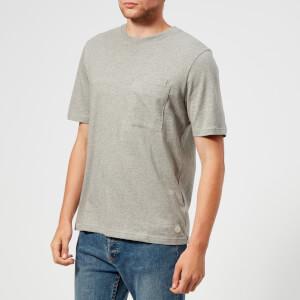 Folk Men's Angle Pocket T-Shirt - Grey Melange