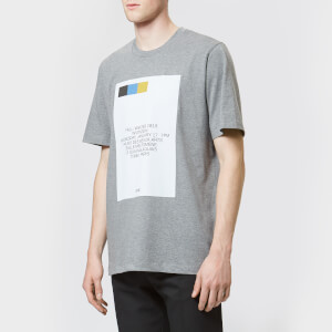 OAMC Men's Invitation T-Shirt - Grey Heather