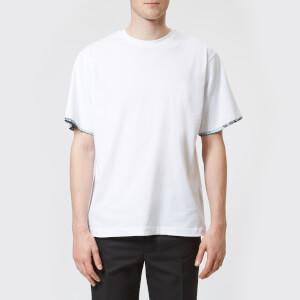 OAMC Men's Wallpaper Short Sleeve Top - White