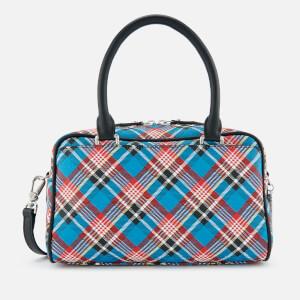Vivienne Westwood Women's Shuka Tartan Handbag - Navy