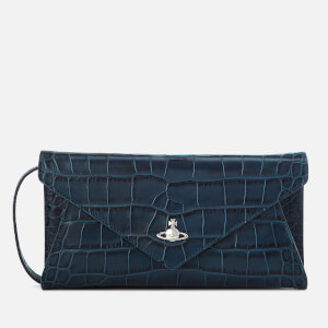Vivienne Westwood Women's Lisa Envelope Clutch Bag - Blue