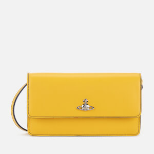 Vivienne Westwood Women's Matilda Phone Wallet - Yellow