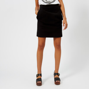 Vivienne Westwood Anglomania Women's Alcoholic Mini Skirt - Black