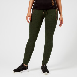 Superdry Sport Women's Tech Luxe Joggers - Khaki/Black