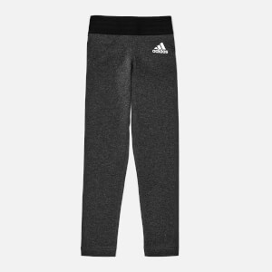 adidas Girls ID Lin Tights - Dark Grey Heather