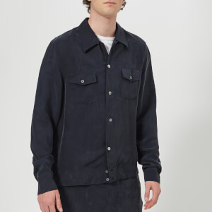 Our Legacy Men's P.X. Shirt - Blue Cupro