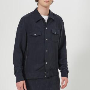 Our Legacy Men's P.X. Shirt - Blue Cupro