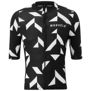 Morvelo Raid Jersey - Black/White (PBK Exclusive)