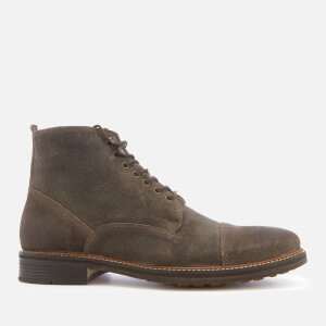 Kurt Geiger London Men's Billington Work Suede Lace Up Boots - Grey