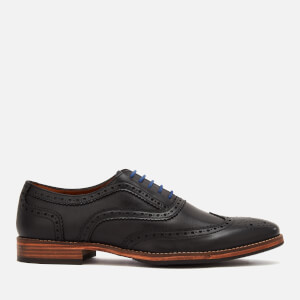 Kurt Geiger London Men's Raymond Leather Brogues - Black