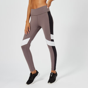 Reebok Women's Lux Colour Block Tights - Almost Grey