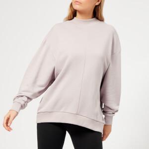Reebok Women's EE Crew Neck Sweatshirt - Lavender Luck
