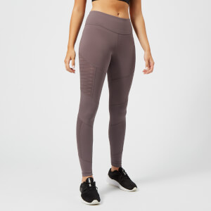 Reebok Women's Mesh Tights - Almost Grey