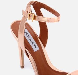 Steve Madden Women's Landen Barely There Heeled Sandals - Rose Gold: Image 4