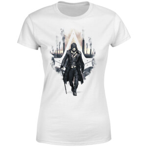 Assassin's Creed Syndicate London Skyline Damen T-Shirt - Weiß
