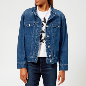 A.P.C. Women's Bailey Denim Jacket - Indigo Delave