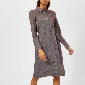 A.P.C. Women's Coco Shirt Dress - Brown
