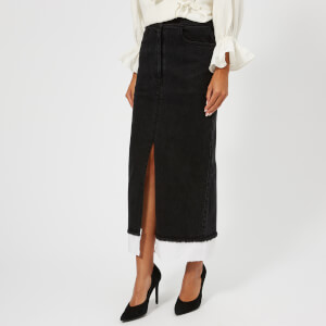 Rejina Pyo Women's Cody Skirt - Denim Black/Cotton White