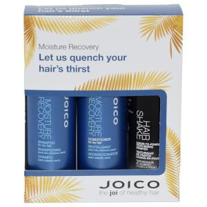 Joico Moisture Recovery Trio Travel Set - Shampoo 50ml & Conditioner 50ml & Hair Shake 50ml