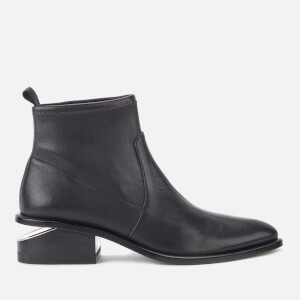 Alexander Wang Women's Kori Stretch Leather Ankle Boots - Black